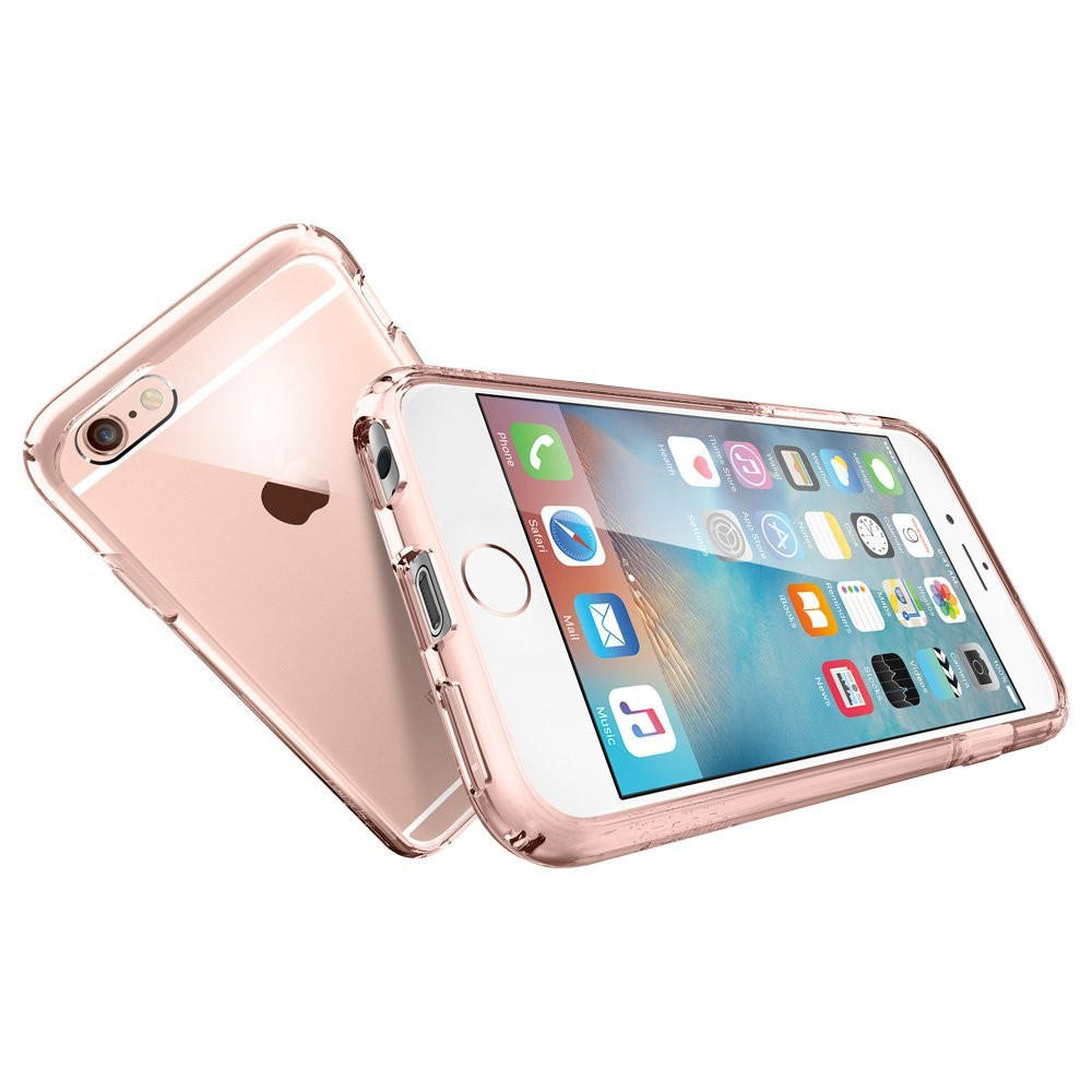 The Rose Gold and Clear Ultra Hybrid Bumper iPhone 6 6s Case 1b15cb4e52db