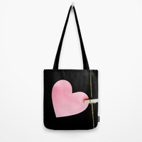 Heart of paper Tote Bag by vanessagf