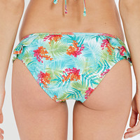 Botanical Side-Ruffle Cheeky Bottoms