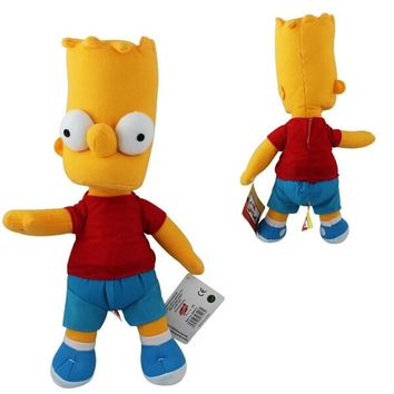 The Simpsons  Bart son  plush doll baby toys for boys  one piece