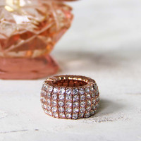 Aglow Rose Gold Ring