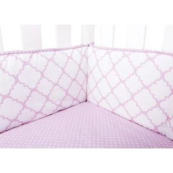 Orchid Bloom Crib Bumpers