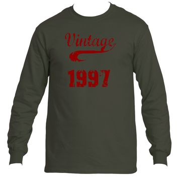 Vintage 1997| Ultra Cotton® Long Sleeve Tees | Underground Statements