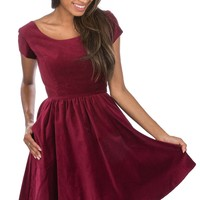 The Velvet Sheridan Dress
