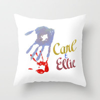 Carl & Ellie Throw Pillow by Ashleigh | Society6
