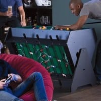 3 in 1 Game Table-Pool Table, Air Hockey and Foosball