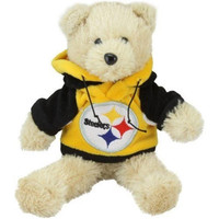 NFL Pittsburgh Steelers 8'' Plush Hoodie Bear