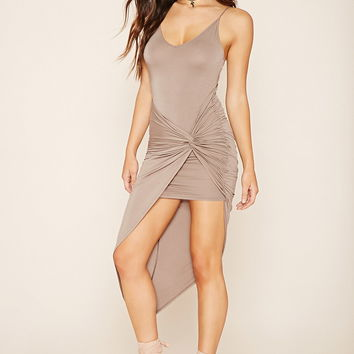 Twisted Asymmetrical Dress