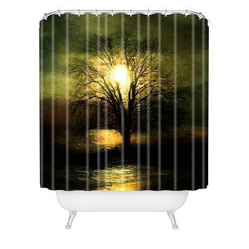 Viviana Gonzalez Energy From The Sun Shower Curtain