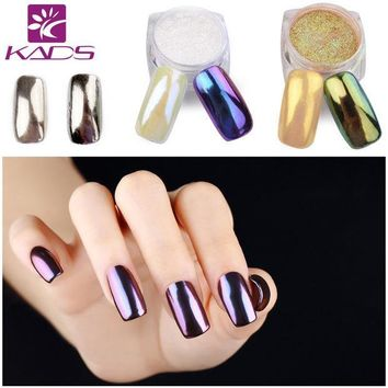 PEAPHY3 KADS 1g/pot Mirror Glitter Nail Art Powder Nail Tips Beauty Nail Powder DIY Chrome Pigment Glitters For Nail Glitter Shining