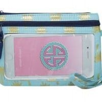 Simply Southern Phone Wristlet- Palm Trees