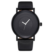Black Casual PU Brand New Watches for Women