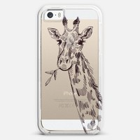giraffe iPhone 5s case by Marianna | Casetagram