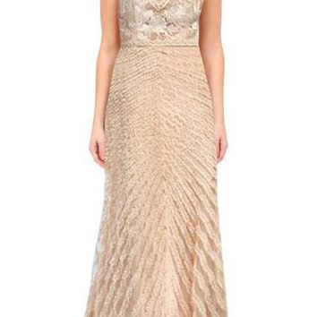 Sue Wong Long Formal Dress Prom Evening Gown