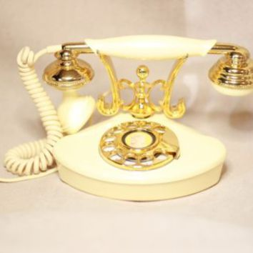 Vintage Princess Rotary phone Tested & working