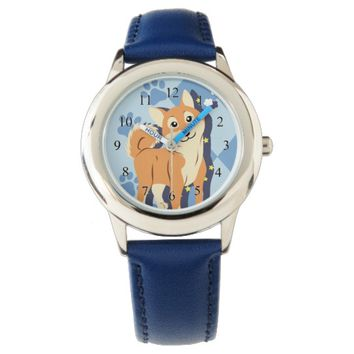 Thoughtful Shiba Inu Wristwatches