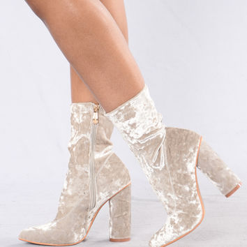I Came And Crushed You Boot - Grey