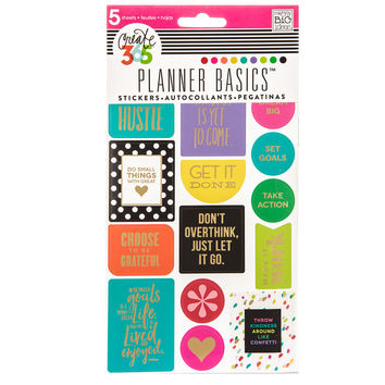 Bright Create 365 Happy Planner Basics Stickers | Hobby Lobby | 1332782