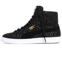 Suede Mid x Stuck Up x Alife Sneakers Black