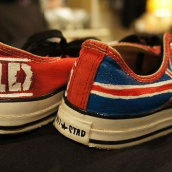 ICIKGQ8 one direction shoes converse sneakers hand painted