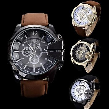 Mens Watches Top Brand Luxury Watch Men Watch Fashion Leather Military Sport Watch Male Hour relogio masculino reloj hombre