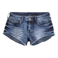 Short Denim Shorts - from H&M
