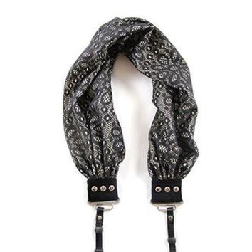 Daisy Lace Scarf Camera Strap - Capturing Couture - CASCARF-DALC