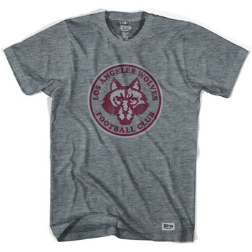 Los Angeles Wolves Vintage Soccer T-shirt