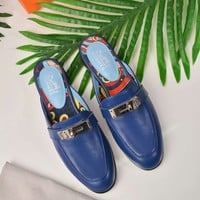 Hermes  Women Casual Shoes Boots  fashionable casual leather