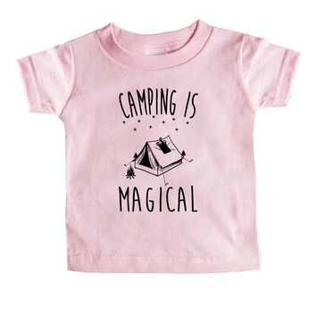 Camping Is Magical Baby Tee
