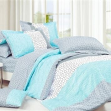 Dove Aqua Twin Xl Comforter Set College From Dormco