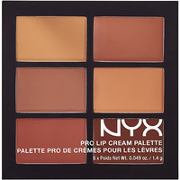 Nyx Cosmetics The Nudes Pro Lip Cream Palette | Ulta Beauty