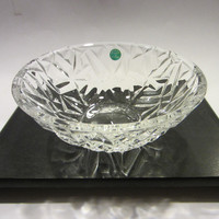 Tiffany Co Crystal Rock Cut Bowl Made In Germany
