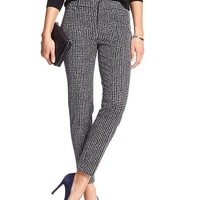 Banana Republic Factory Print Sloan Fit Slim Ankle Pant