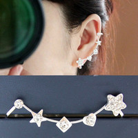 NT0134 Flower ear bones clip