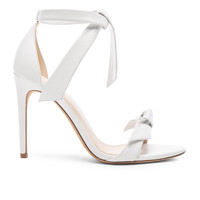 Alexandre Birman Clarita Heels in White Leather | FWRD