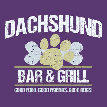 Dachshund Bar & Grill T-Shirt