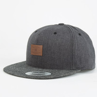 Dc Shoes Wino Mens Snapback Hat Black One Size For Men 24588210001