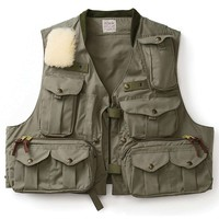 Filson Cover Cloth Fly Fishing Guide Vest - Men's