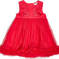 River Island Mini girls red prom dress