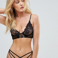 Glamorous Underwire Lace Bra at asos.com