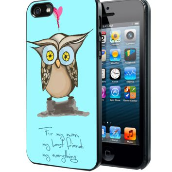 Little Owl Samsung Galaxy S3 S4 S5 S6 S6 Edge (Mini) Note 2 4 , LG G2 G3, HTC One X S M7 M8 M9 ,Sony Experia Z1 Z2 Case