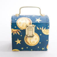90s vintage grunge celestial sun moon star novelty box purse