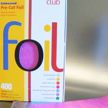 product c. - Embossed Foils