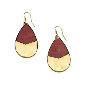 Tara Stone Teardrop Earrings - Matr Boomie (Jewelry)