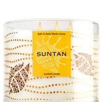 3-Wick Candle Sun Tan