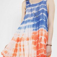 Lovecat Tie-Dye Babydoll Dress