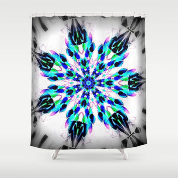 Frozen Snowflake Shower Curtain by 2sweet4words Designs