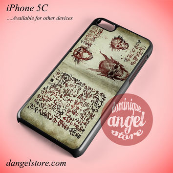 Evil Dead In Book Of The Dead Phone case for iPhone 5C and another iPhone devices