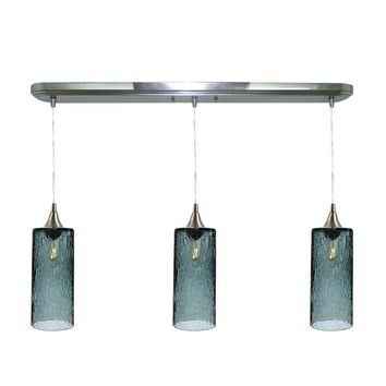 Lunar 3 Pendant Linear Chandelier: Form No. 515